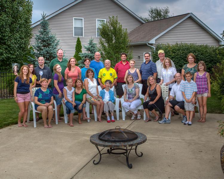 Bowen Family August 2012