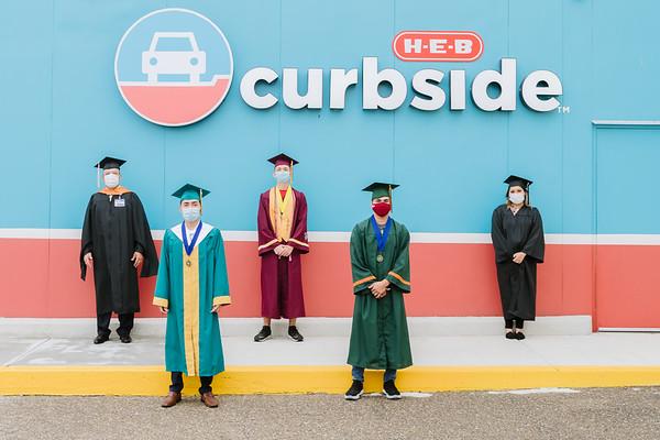 HEB Recognition of HCISD Graduates