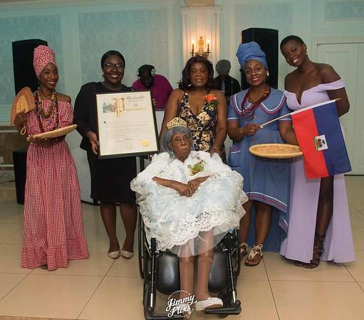 CARIDA SANON'S 100TH BIRTHDAY CELEBRATION