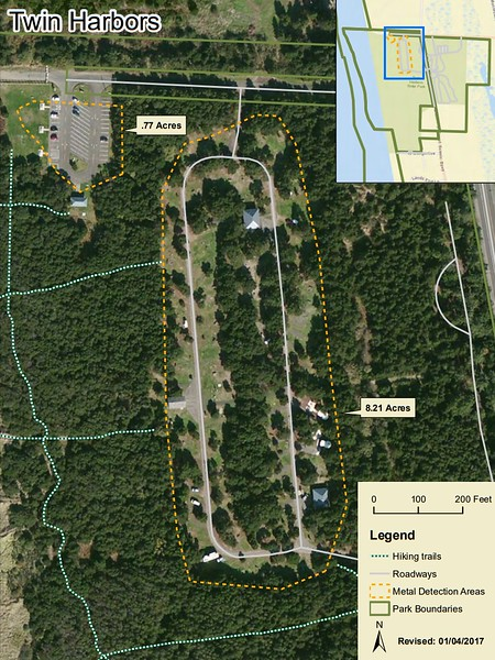 Twin Harbors State Park (Metal Detection Areas)