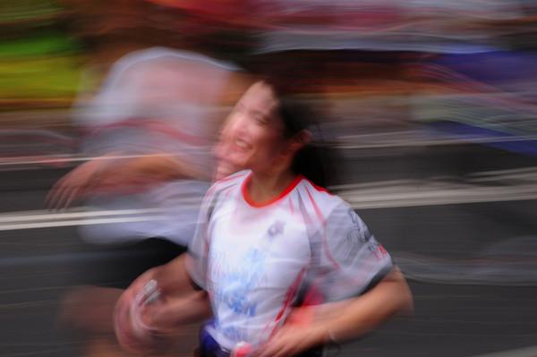 2009 NYC Marathon in a blur!
