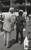 Mayor Hudnut at Monument Circle Police Event, May 1982, Img. 4