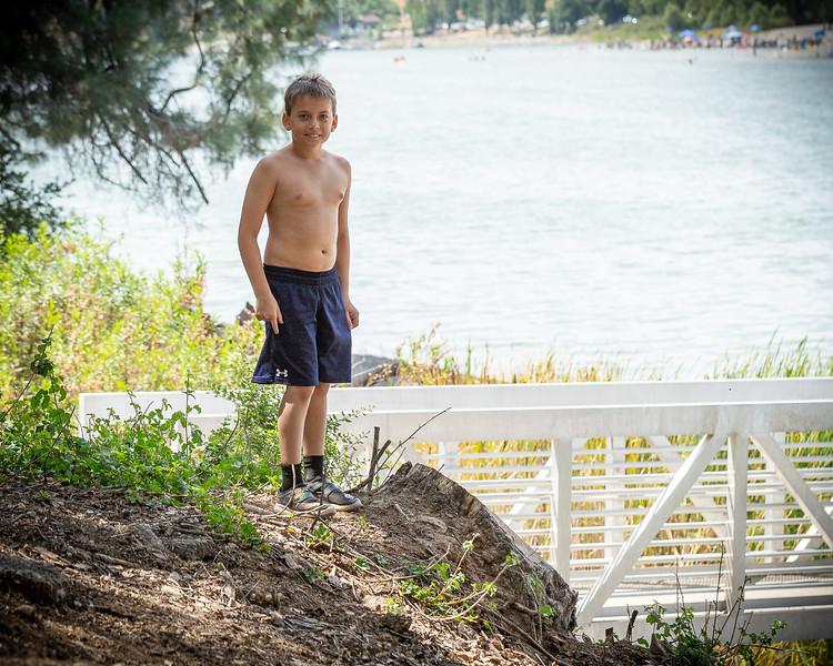 We love lake Del Valle!