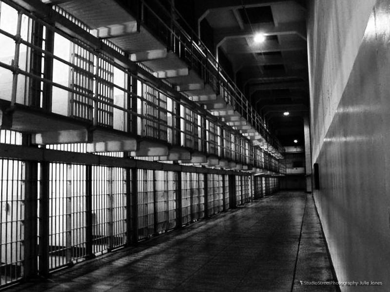Night time at Alcatraz