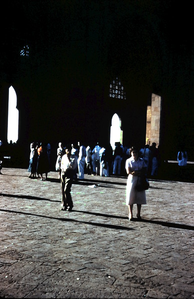 1958-12 (3) Mary @ the Gate of India.JPG