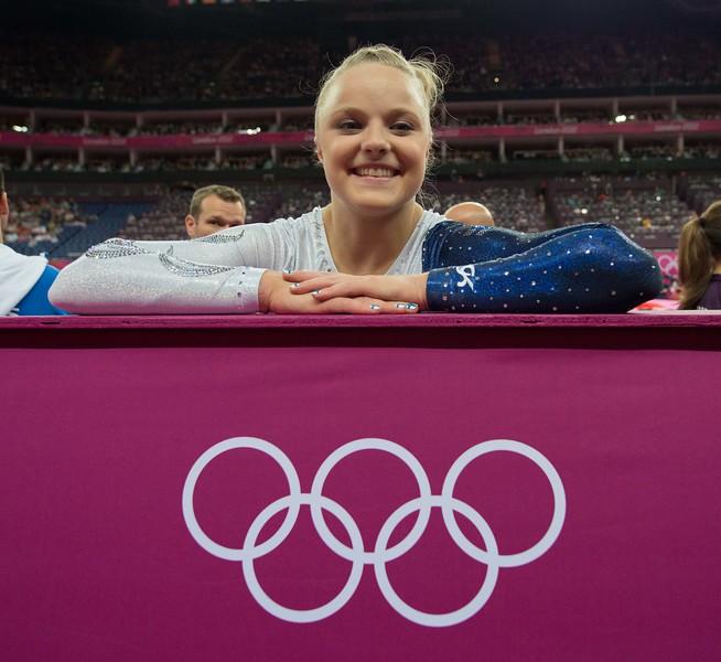 Annika Urvikko at London olympics 2012__29.07.2012_London Olympics_Photographer: Christian Valtanen_London_Olympics_Annika Urvikko at London olympics 2012_29.07.2012_DSC_3761_Annika Urvikko, gymnastics