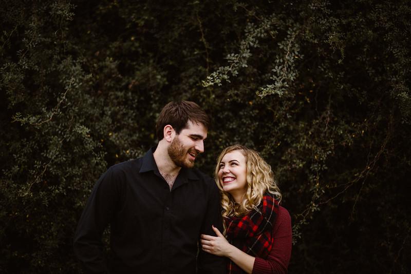 Wild Winter Wonderland Couples Session - Houston Portrait Photographer