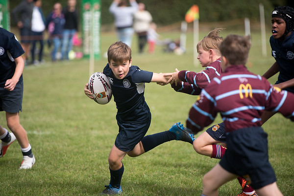 Under 12s at Crawley RFC September 2018
