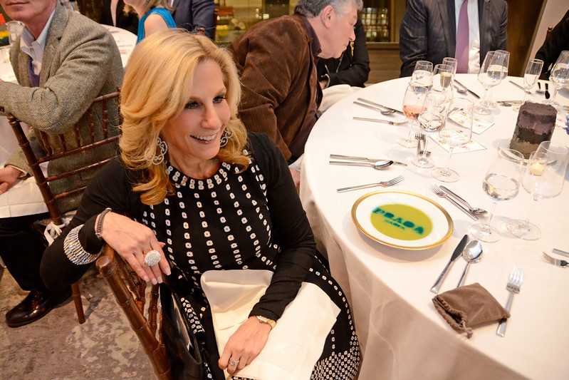 Randi Schatz AVENUE MAGAZINE Presents the SALON DINNER & CONVERSATION about PUBLIC ART Featuring YVONNE FORCE VILLAREAL 10 Hudson Yards NYC, USA - 2017.04.06 Credit: Lukas Greyson