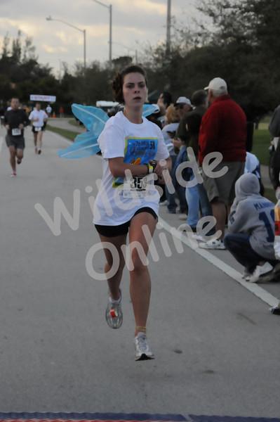 Butterfly Run 5K, 2-1-09