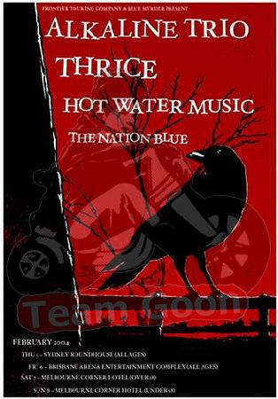 Alkaline Trio - Trice - Hot Water Music