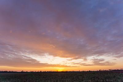 April Sunrise, 2020