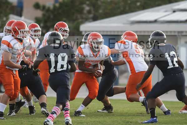 Boone Braves @ Dr. Phillips Panthers Freshman Football - 2013