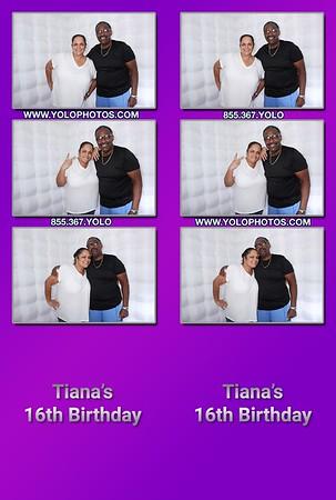 Tiana's 16th Birthday