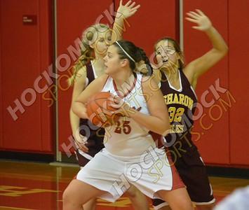 North Attleboro - Sharon Girls Basketball 12-21-15