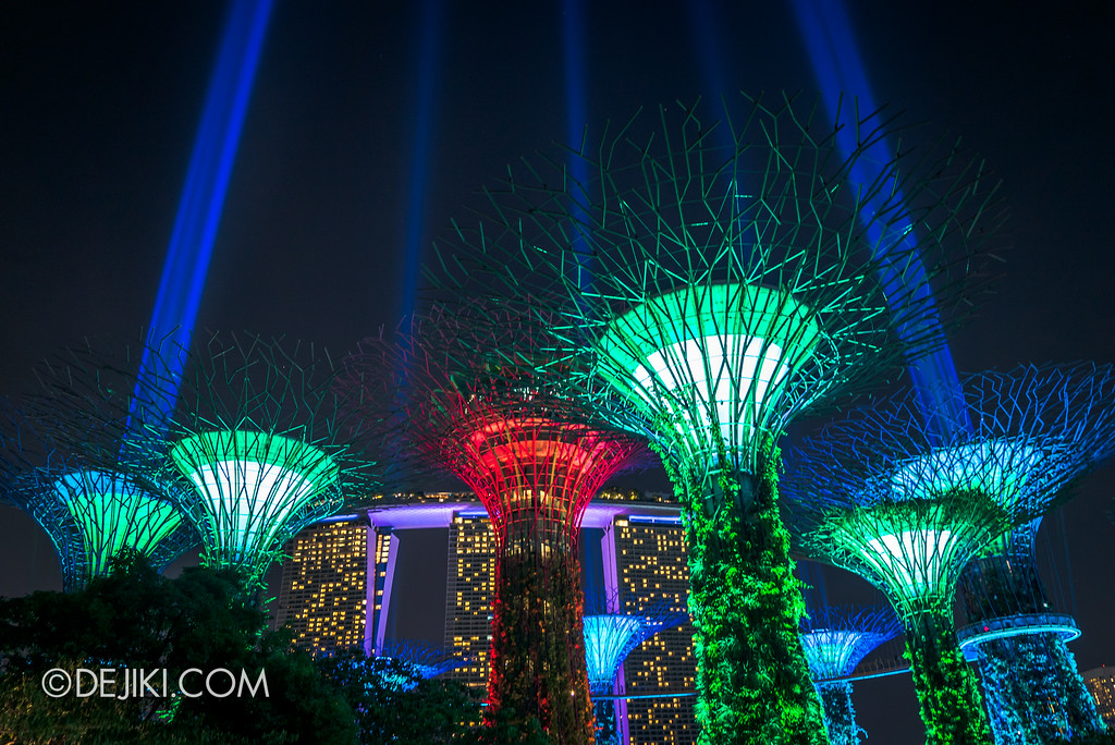 Gardens by the Bay - Star Wars Day 2017 - Garden Rhapsody SaberTrees 3