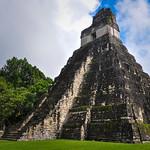 Temple of Jaguar, Tikal Ruins, Guatemala