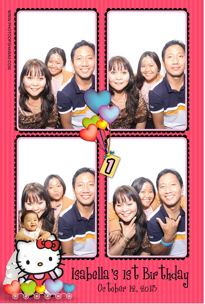 Isabella's 1st Birthday (Luxe Photo Booth)