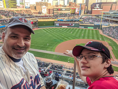 2019 Sep - Twins Game