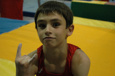Gymnastic with Caulder (Summer 2006)