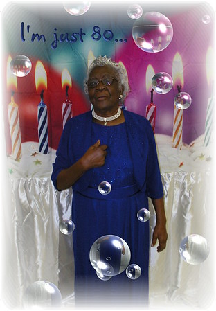 Mrs. Annie Beatrice Cheek  *80th* Birthday Celebration