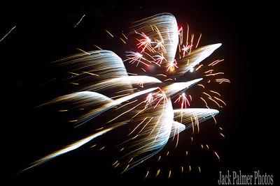 Rockwall, TX.    Fireworks @ Myers Park    Fourth of July Celebration