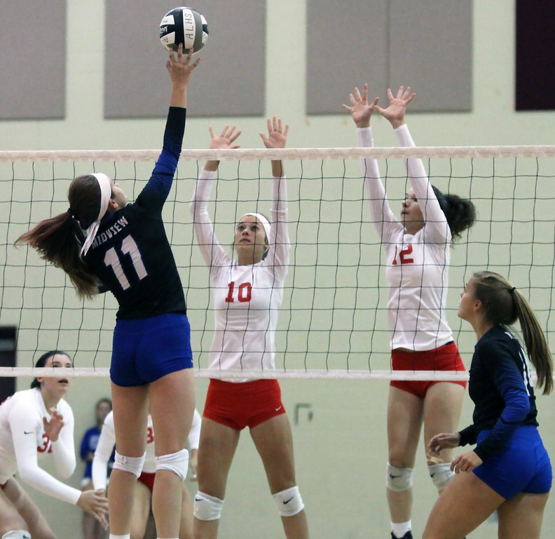 . Randy Meyers - The Morning Journal Action from the Lorain County volleyball preview Aug. 10 at Avon Lake.