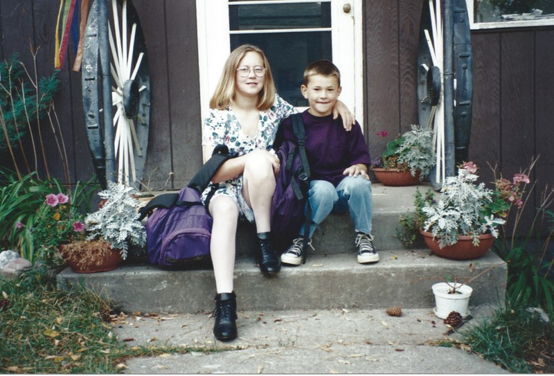 First day of school in 95.jpeg