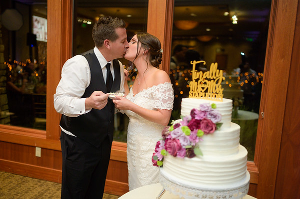 Cake, Bouquet, Garter