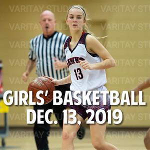 Prairie Girls Basketball, December 13, 2019