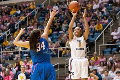 28142 WVU Women's Basketball Depaul Fedruary 2012