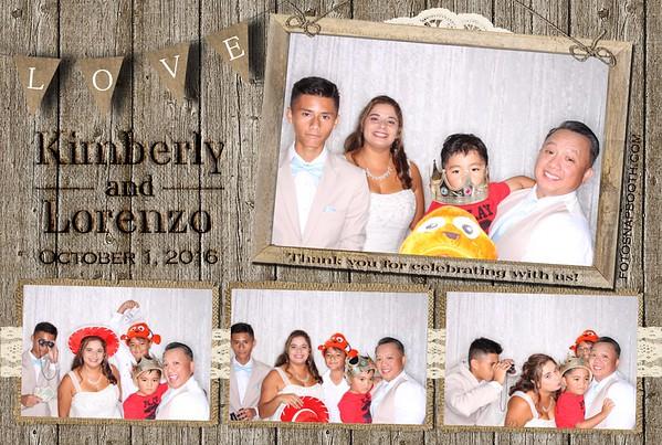 Kimberly and Lorenzo's Wedding 2016