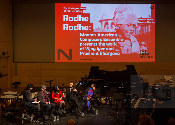 2018.04.10 - Mannes American Composers Ensemble presents the work of Vijay Iyer and Prashant Bhargava | RADHE RADHE: Rites of Holi