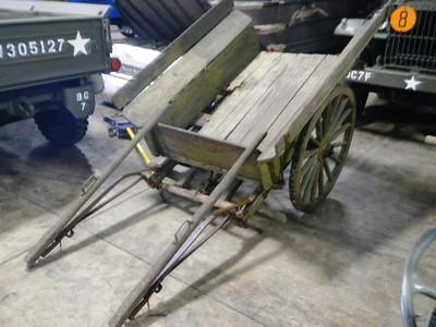 MODEL OF 1917 MACHINE GUN CART #104735