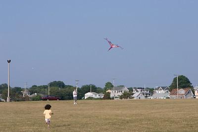 Flying_the_kite