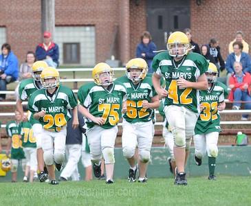 20110915 St. Mary's Jr. High Football