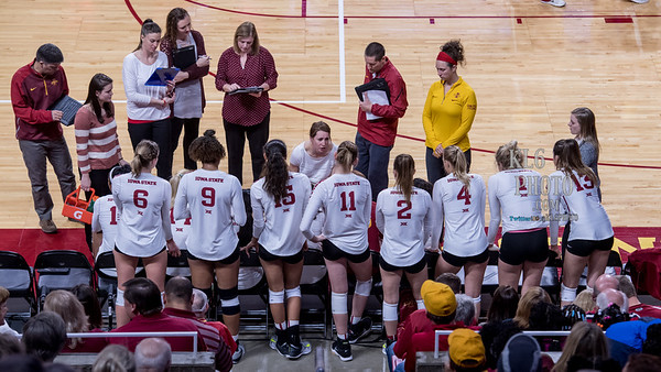 ISU Volleyball vs TTU 11/25/17
