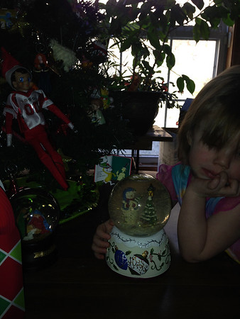 Nickolas the Elf gave Gracie a gift