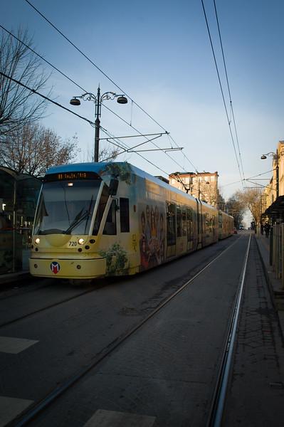 Istanbul new tram