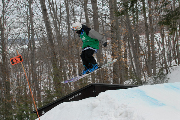 Slopestyle Rails - Calabogie Timber Tour