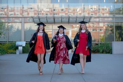 Kelsey, Sarah, Hunter - SU Graduates