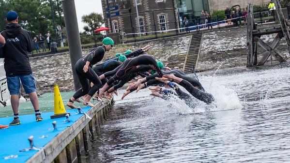 Cardiff Triathlon - Super Series Swim