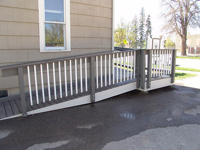 Wheelchair Ramp for Special Friends