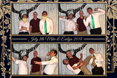 2018-07-08: MN Valley Country Club wedding photo booth in Bloomington MN