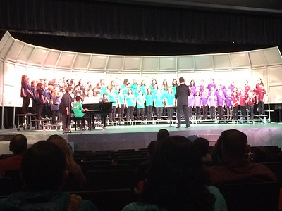 Choir Concert at Glencoe