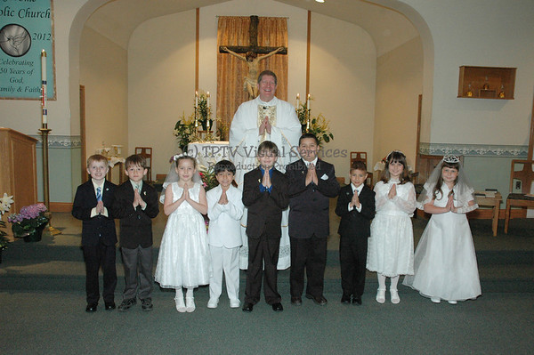2012 St. Jerome 1st Communion