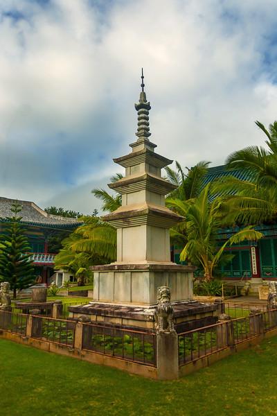 Korean Temple Kaimuki Oahu Hawaii