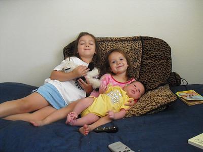 Kelli, Alyce, and Micah