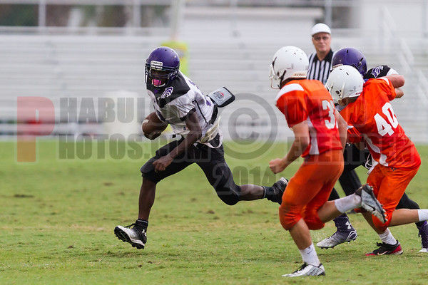 Timber Creek Wolves @ Boone Braves Freshman Football - 2014