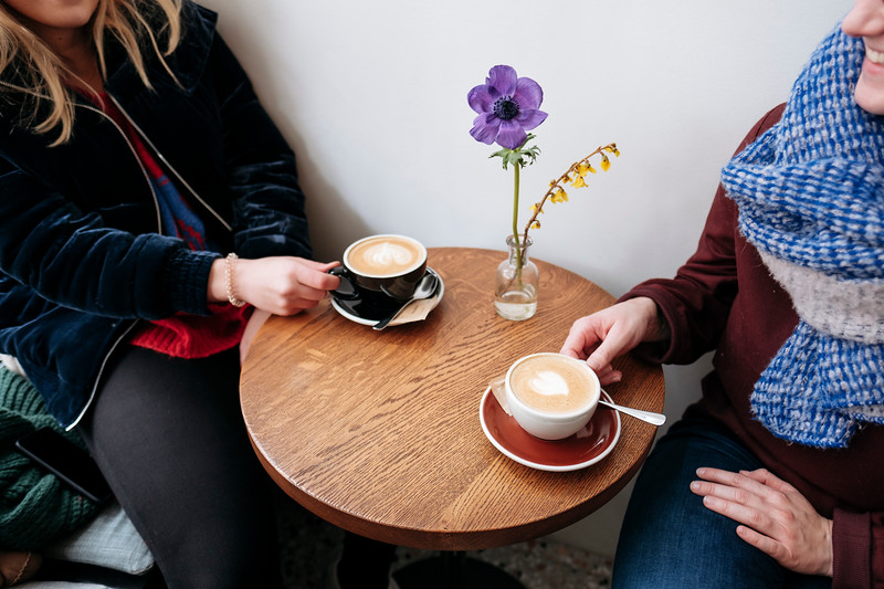 Coffee at Café Paradiso Geneva